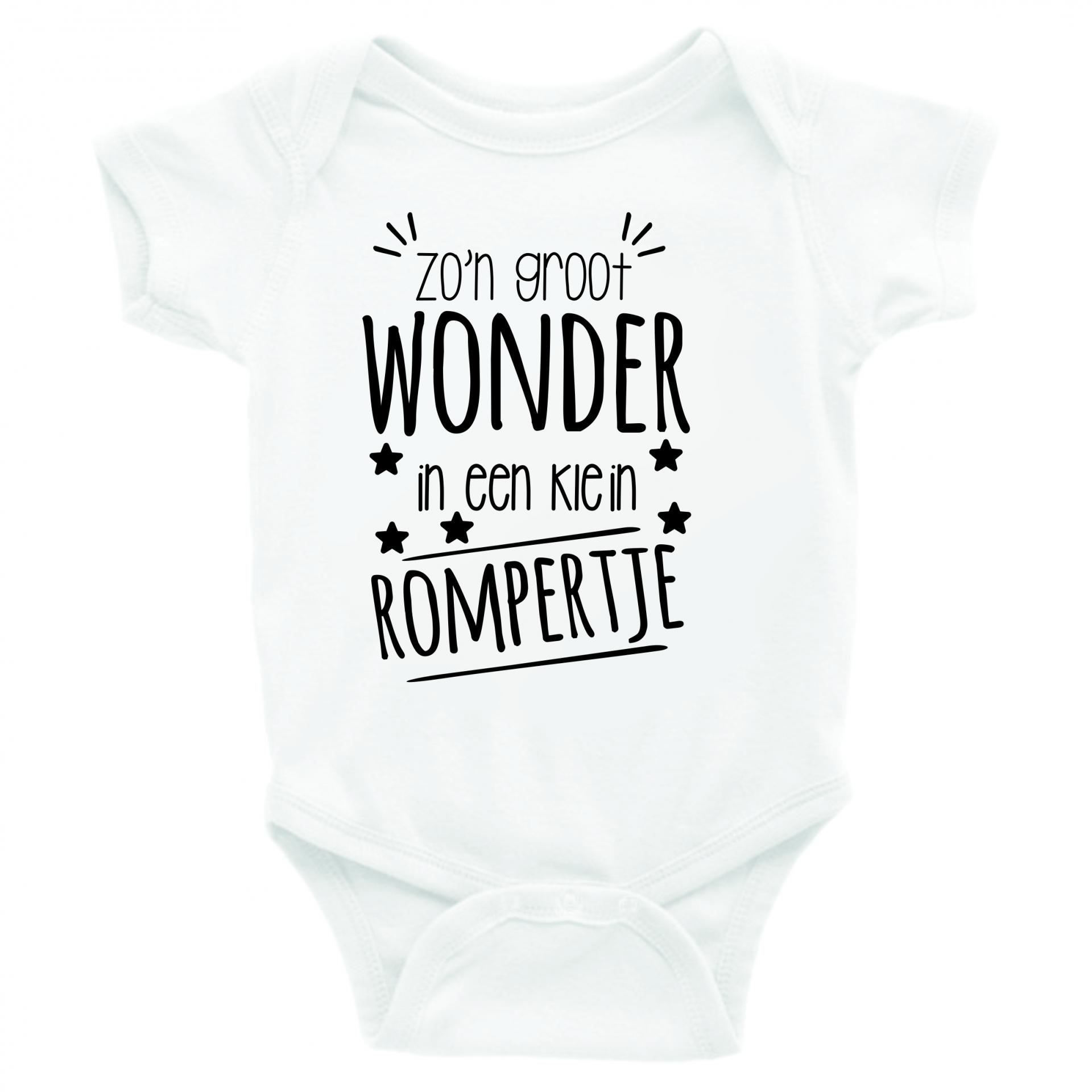 Beroemd Baby Rompertjes Met Tekst #BTB42 - AgnesWaMu &NR78